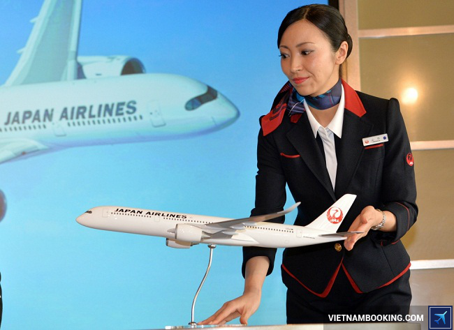 Vé máy bay hãng Japan Airlines