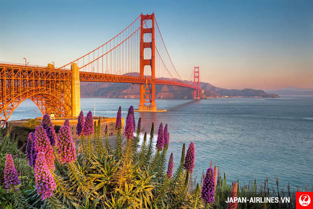 Cùng vé máy bay đi San Francisco tham quan cầu Golden Gate