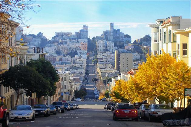 Những con đường quyến rũ tại San Francisco