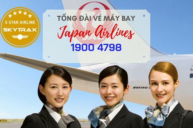 mua vé máy bay japan airlines giá rẻ