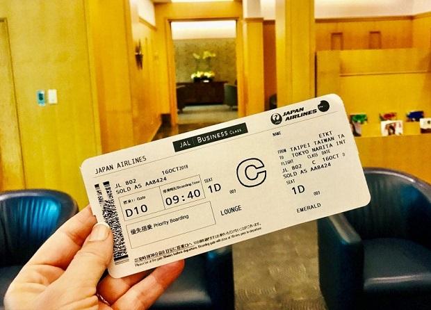 Đổi vé máy bay Japan Airlines