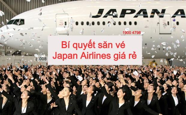 bí quyếtsăn vé japan airlines giá rẻ