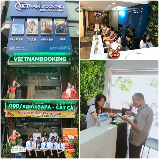 Đại lý vé máy bay Vietnam Booking tại Hà Nội