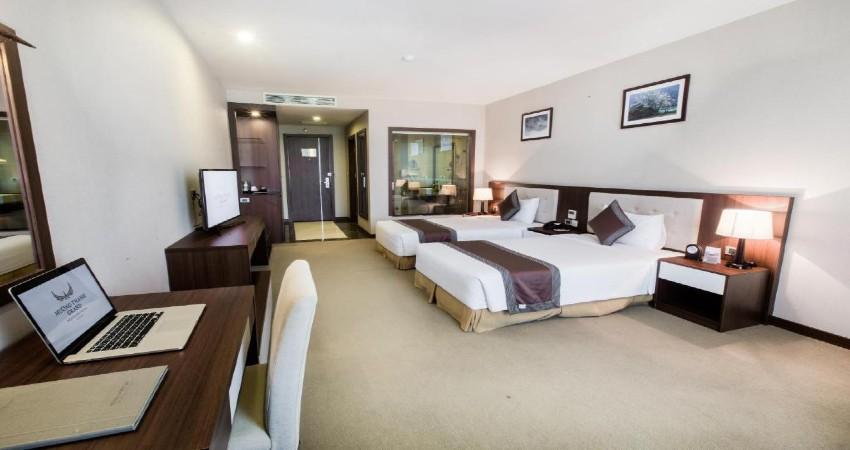 Phòng 2 giường đơn Khách sạn Mường Thanh Hoàng Mai