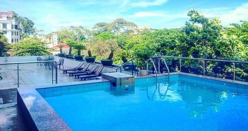 Hồ bơi Khách sạn Mường Thanh  Vũng Tàu