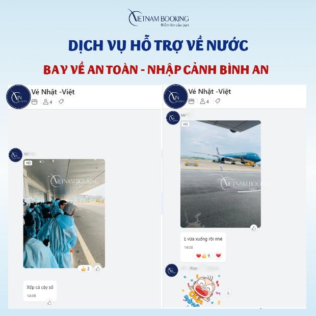chuyến bay quốc tế về Việt Nam