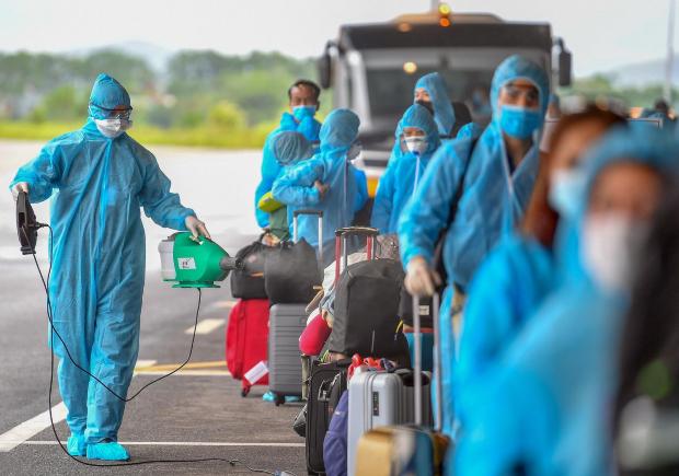 chuyến bay từ quốc tế về Việt Nam