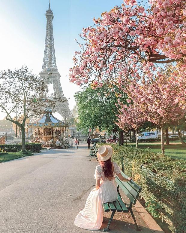mùa xuân nước Pháp