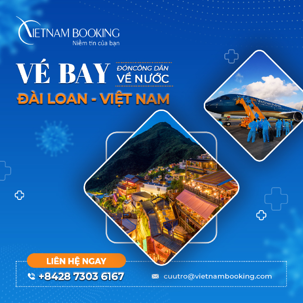 Chuyến bay từ Đài Loan về Việt Nam