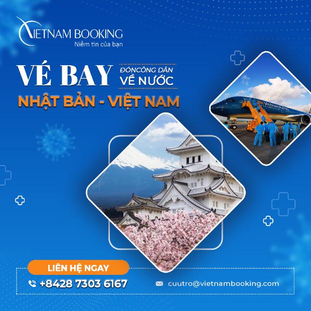 Thông tin mới nhất chuyến bay từ Nhật Bản về Việt Nam   Lịch bay tháng 6