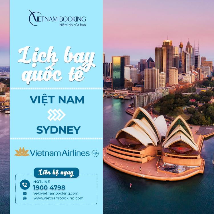 Chuyến bay từ Việt Nam đi Úc