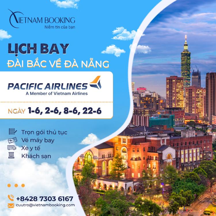 Chuyến bay charter từ Đài Loan về Việt Nam