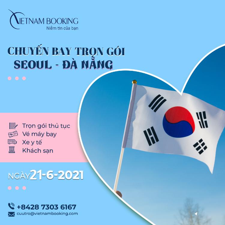 Chuyến bay charter từ Seoul về Đà Nẵng