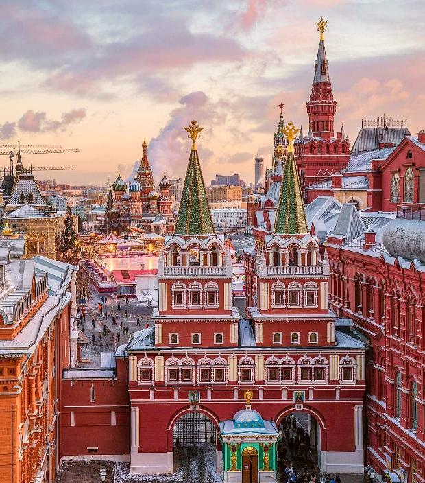 vé máy bay đi Moscow giá rẻ