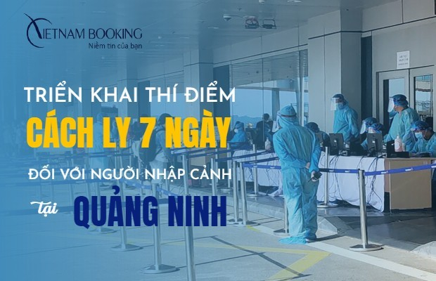 Khách sạn cách ly dành cho F1, F2, F3 tại Vân Đồn - Quảng Ninh