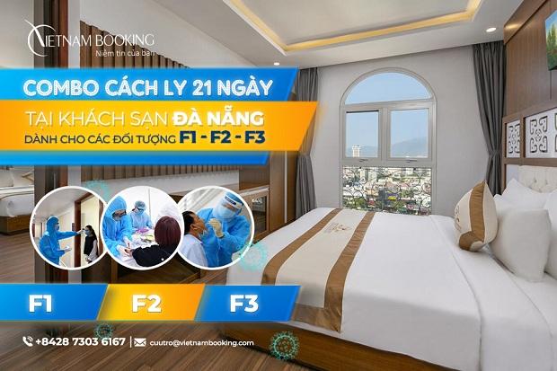 khách sạn cách ly dành cho F1, F2, F3 tại Đà Nẵng