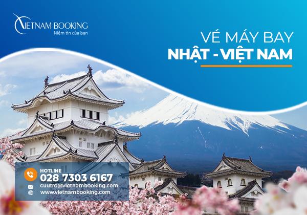 Vé máy bay từ Nhật Bản về Việt Nam, đã có chuyến bay tháng 8