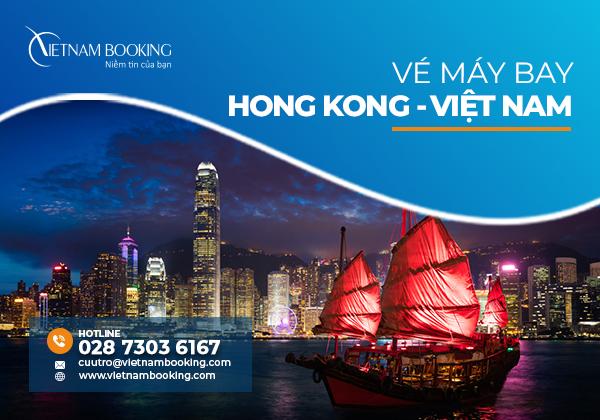 Vé máy bay từ Hong Kong về Việt Nam, còn 10 suất bay tháng 9