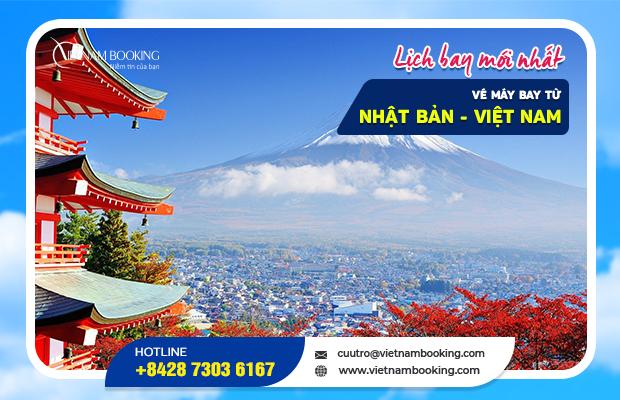 Vé máy bay từ Nhật Bản về Việt Nam, đã có chuyến bay tháng 10