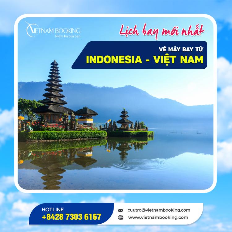Chuyến bay từ Indonesia về Việt Nam